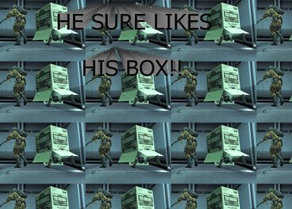 Solid Snake Likes Box!