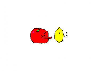 Lemons are funny.
