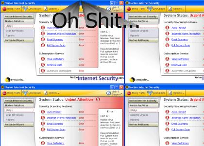 Norton AntiVirus 2005 Security Breach