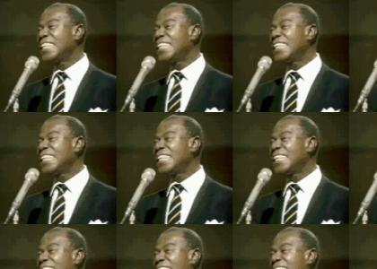 Louis Armstrong RIP (TooSoonToJoke™)