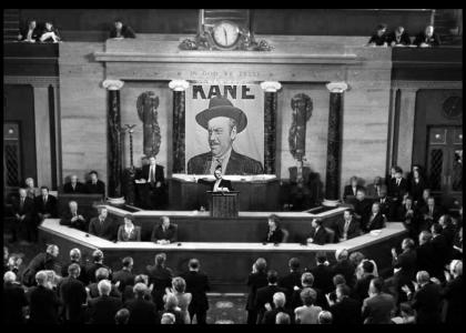 Citizen Kane Addresses Congress