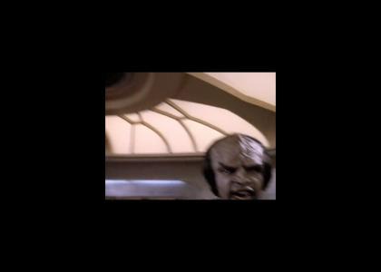 Worf Screaming