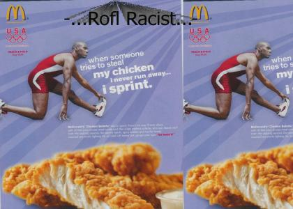 Mcdonalds is Racist