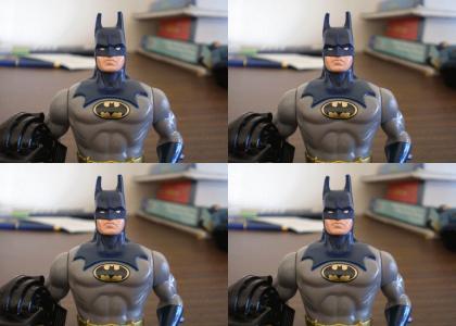 Batman Figures Don't Change Facial Expressions