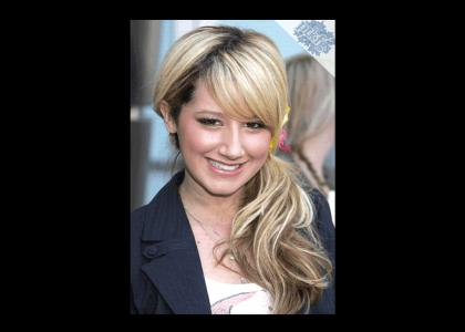 PTKFGS Ashley Tisdale doesn't change facial expressions