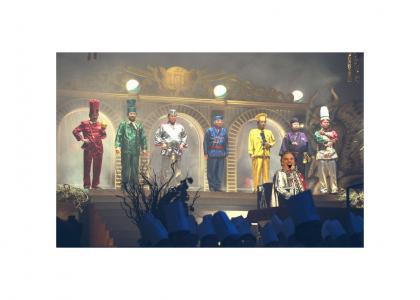 Howard Dean Hosts Iron Chef Japan