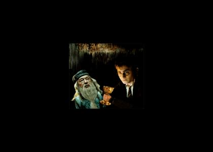 Harry Forces Dumbledore