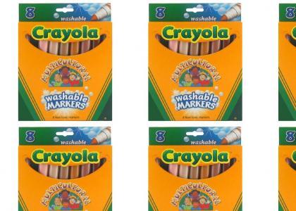 Crayola puts a stop to racism!