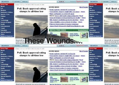 George W. Bush.... Emo?