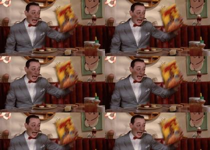 Pee-Wee Pities The Poor Fool...