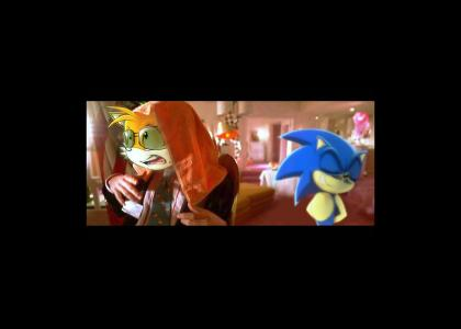 Sonic advices Tails about Adrenochrome