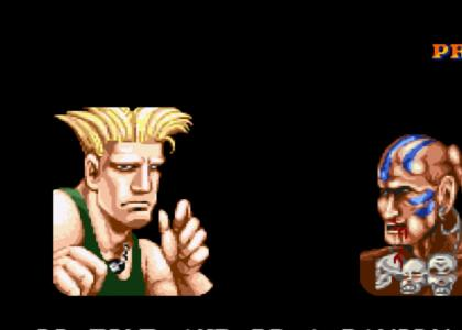 Guile gives you sound advice