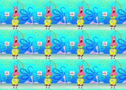 OMG Secret islamic Sponge Bob