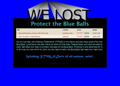 Protect the Blue Balls!