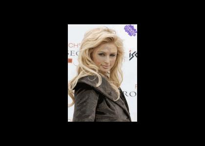 PTKFGS: Paris Hilton Changes Facial Expressions a Lot