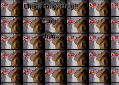 Chug Paula chug!