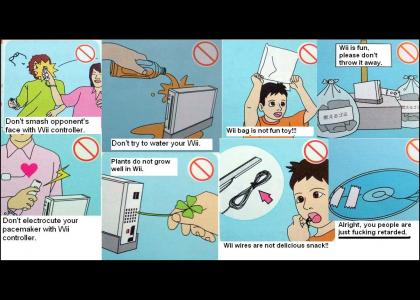 Wii safety guide... (downvoted byDr. L337!!)