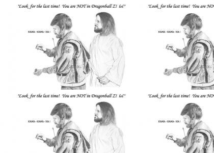 Jesus watches DBZ?
