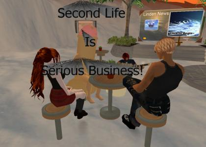Second Life Is Serious Business