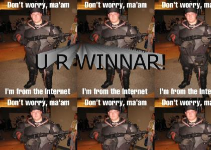 Teh INTARWEB is WINNAR!