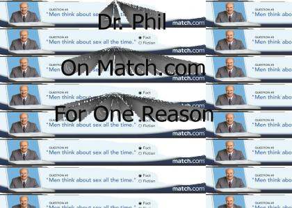 Dr. Phil is a Nympho