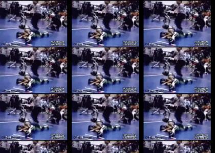 Epic Wrestling Match Manuever