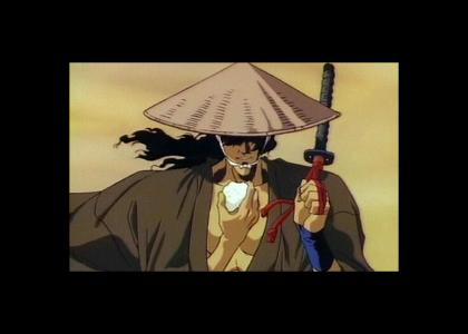 Ninja Scroll's Jubei vs. Michael J. Fox