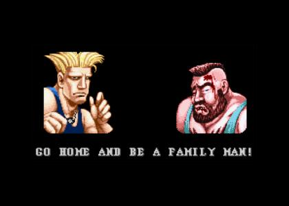 Guile Gives Sound Advice II Turbo