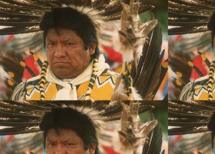 You Aint No Indian!, Mr T Complains