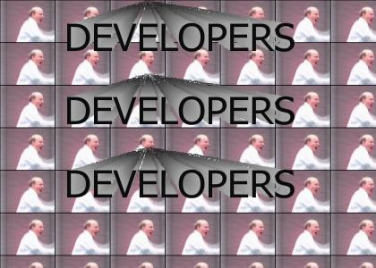 DEVELOPERS DEVELOPERS DEVELOPERS