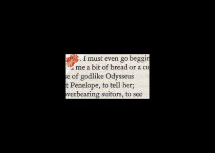 Odysseus doesn't change epithets!!