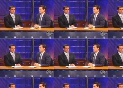 Colbert retaliates