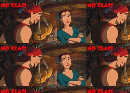Sinbad Has NO CLASS
