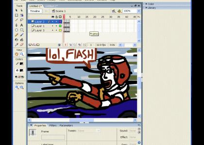 lol, flash 8