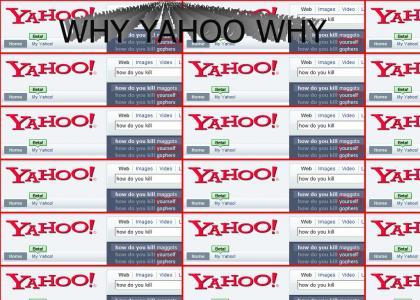 Yahoo is suicidal