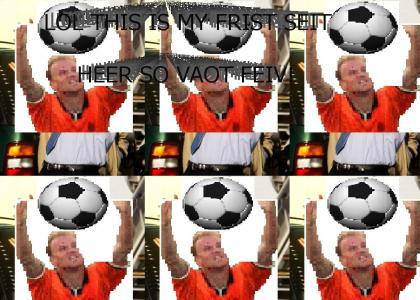 Dennis Bergkamp Summons A Belt De Ball Spirit