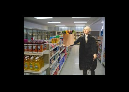 GW goes grocery shopping