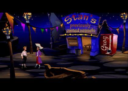 Stan Sells EVERYTHING To Guybrush (2009)