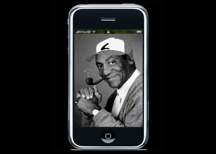 Cosby iPhone Stares into Your Soul