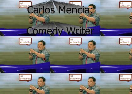 Carlos Mencia's Writing Process