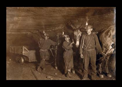 A day in the coal mine