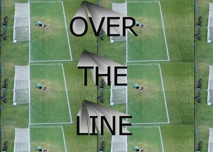 World Cup 2010: OVER THE LINE