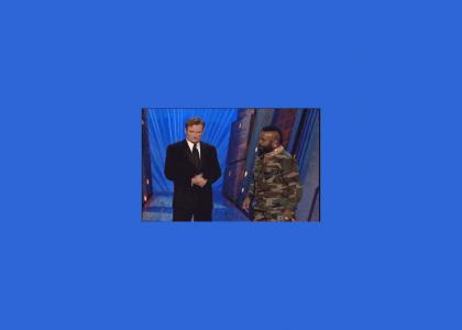 Mr. T Gives Conan a Present