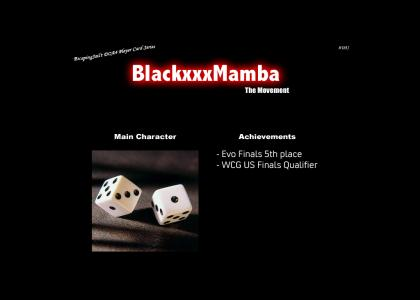 Black Mamba Character Card