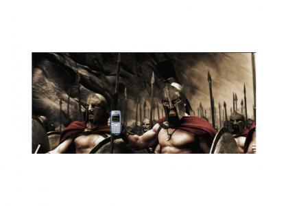 300tmnd: Leonidas dials for Sparta