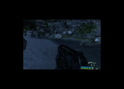 Strange Crysis Glitch