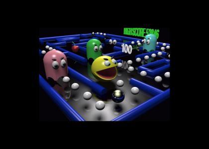 Pac-Man:  EAT 'EM UP!!!