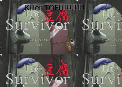 Resident Evil 2 Killer tofu