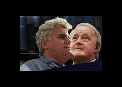 Mulroney—Leno Epic Chin Battle