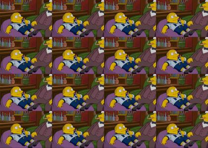 Ralph Wiggum's Opium Dream (Little Fluffy Clouds)